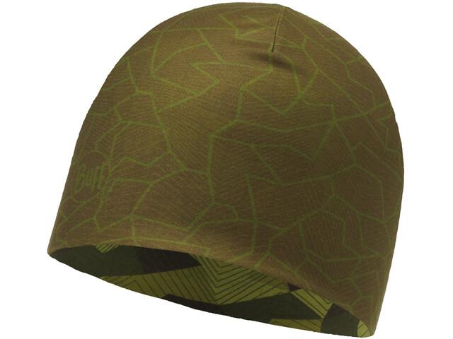 Buff Microfiber Bonnet réversible, block camo green